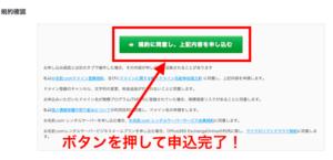 お名前.comお申込み完了ボタン