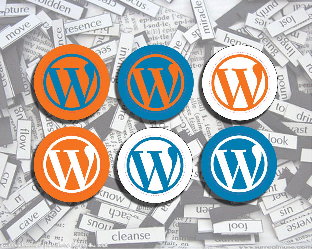 WordPressのステッカー