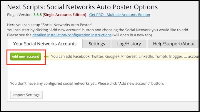social-networks-auto-posterの設定